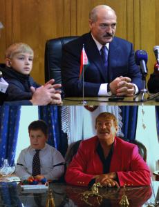Усатый таракан Лукашенко